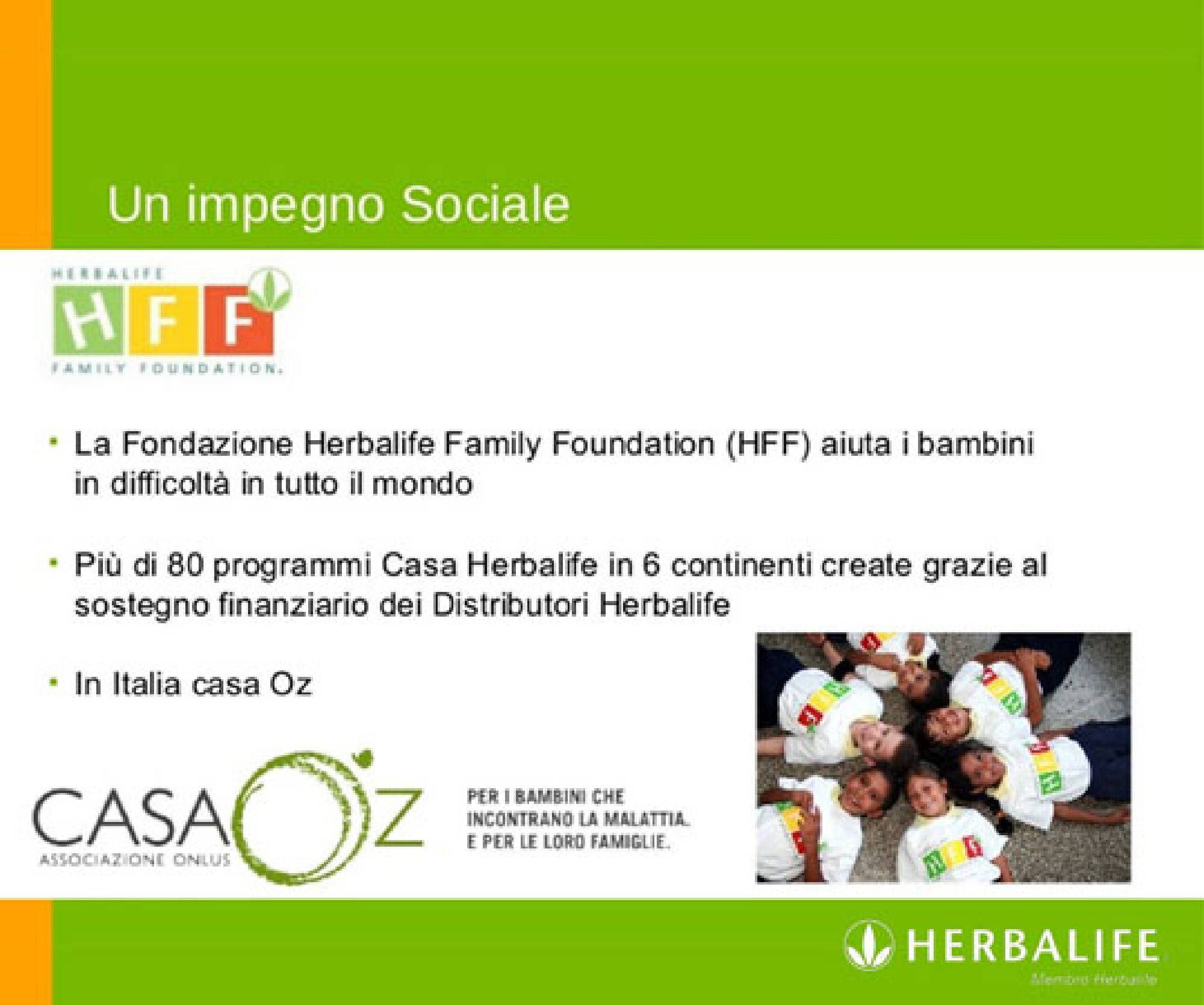 herbalife ostia Family Foundation