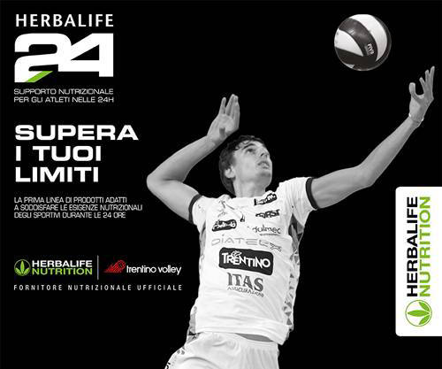 herbalife ostia H24 Trentino Volley